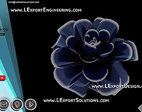Infinite Blooming Flower Animation Cinema 4D LExport 3D