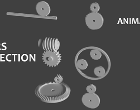 3D model Gears Collection