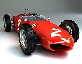 1961 Ferrari 156 Sharknose 3D asset