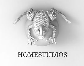 PENDANT FROG WITH STONE OR PEARL OR 3D print model