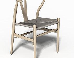 3D Chair Hans Wegner CH36