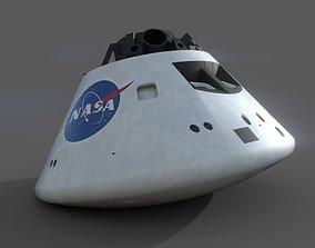 3D model Orion Capsule - 3 Texture Sets