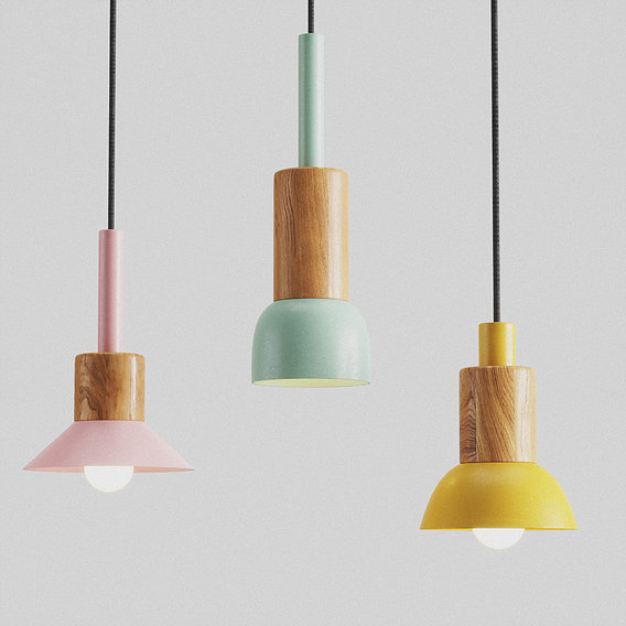 Pendant lamp Fanta by Anzazo 3D model