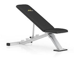 Adjustable Gym Bench 1 3D