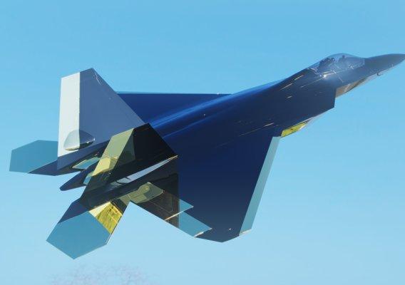 CGD Render Jet Fighter