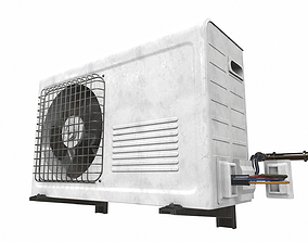 3D model Air conditioner outdoor 7a