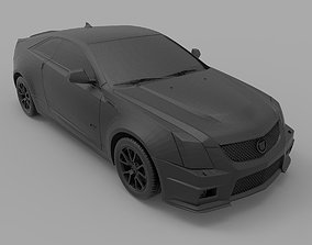 Cadillac CTS-V Coupe 3D printable model