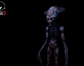Alien - Independence Day - Harvester - 3D model