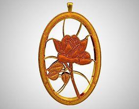 Rose Necklace 3D print model