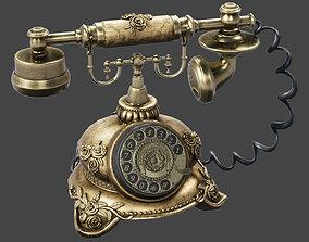 3D asset Antique Telephone