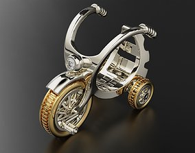 3D print model Fashion ring childrens bicycle