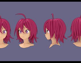 Takemoto Uruka hair style 3D