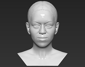 Michelle Obama bust 3D printing ready stl obj
