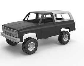 3D printable model Diecast shell and wheels 1988 6