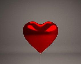 3D model Heart balloon