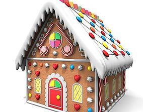 3D model Ginger Bread House
