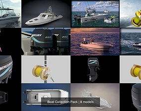 Boat Collection Pack 3D model