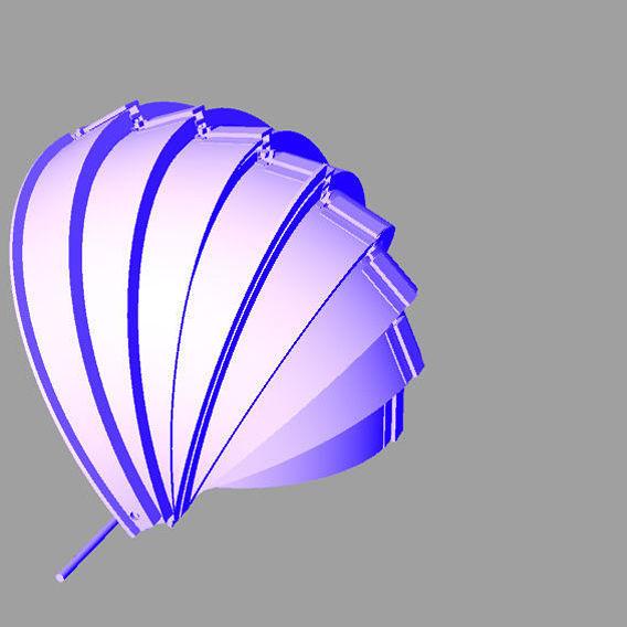 Dome shape  Self lock Structure
