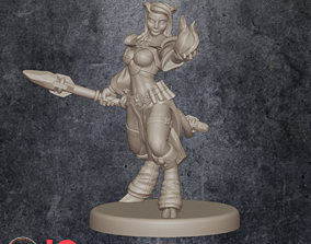 3D printable model Lady Audra - Mage Trainer