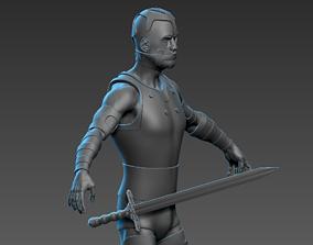 3D Warrior V1