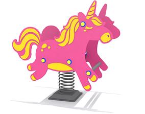 3D model Playground - Unicorn Rider