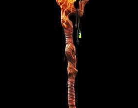 Soulkeeper- Mages Staff 3D model