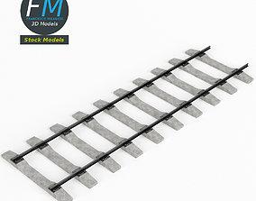 3D Railway track