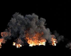 3D model Explosion-Dust Burst VDB