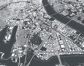 3D model Cityscape Dallas USA