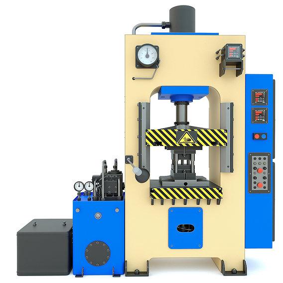 Industrial machine tool hydraulic press D2430B