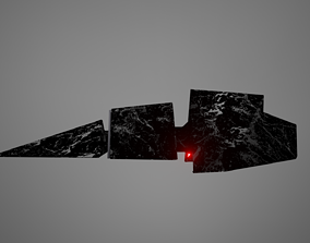 3D model Flying Charizomotic megalith