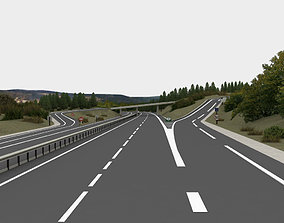 game-ready highway navigation 3D road