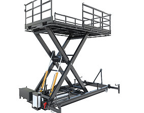 Industrial lift - S7 engineering 3D model
