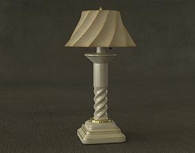 Screw Lamp Interior Prop 3D model
