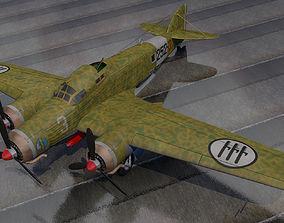 3D model Savoia Marchetti SM-79 Sparviero
