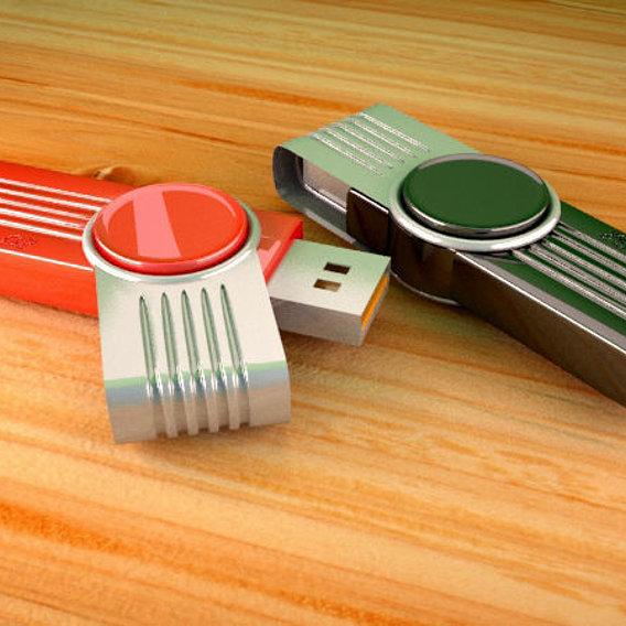 Flash memory stick