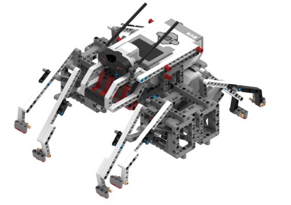 LEGO EV3 SpiderBot