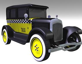 3D asset 1926 Studebaker Taxi