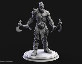 3D printable model Barbarian Warrior creature