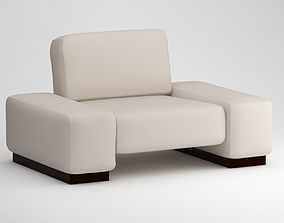 Sofa Set bed 3D model