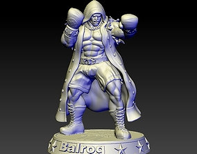3D print model Street Fighter Balrog