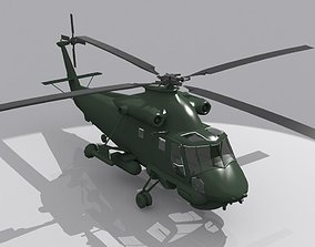 WAR HELICOPTER 3D model
