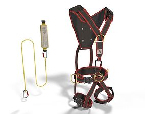 Climbing Equipment Security Harness 3D model
