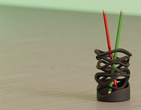 Wave Pencilbox-Ready for 3D Printing