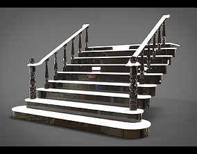 Classic stairs 3D