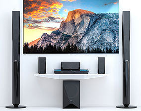 Home Theater Sony BDV-E4100 and TV Sony AF8 3D