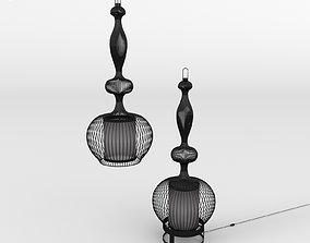 3D LAMPE and SUSPENSION IMPERATRICE