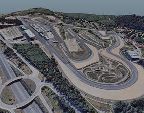 Estoril Racing Circuit circuit 3D model