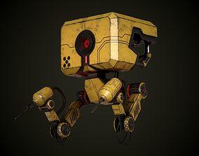 Robot Mech 3D asset