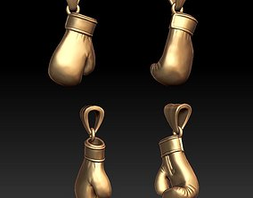 3D print model punch Boxing Glove pendant